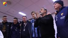 Özcan tackar sina spelare