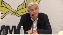 Presskonferensen efter Hammarby - Gefle IF