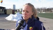 Mia Jalkerud efter Tyresö-DIF