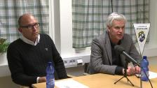 Presskonferensen efter Ljungskile SK - Hammarby