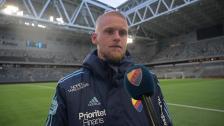 Kalle Holmberg efter Helsingborg