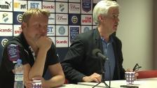 Presskonferensen efter Östers IF - Hammarby