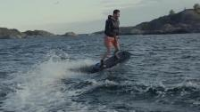 Wakejet Cruise – svensk eldriven wakeboard