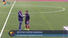 Besard Sabovic, Kevin Deeromram och Anders Johansson efter segern mot Sirius