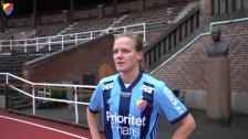 Sheila van den Bulk klar för två nya år