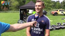 Karlström om nya Adidasskorna