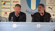 Presskonferensen efter Malmö - Djurgården