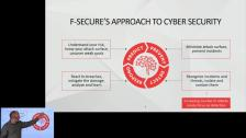 F-Secures vd Samu Konttinen presenterar på Redeye CyberSecurity Event - 27 september