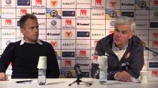 Se presskonferensen efter förlusten i Kalmar