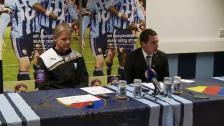 Presskonferensen efter DIF-MFF 2011