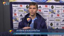 Karlström tillbaka efter skadan