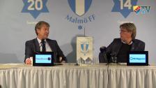 Presskonferens efter Malmö FF - Djurgården