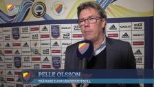 Pelle Olsson efter krysset mot Göteborg