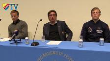 Presskonferensen efter Djurgården - Gefle