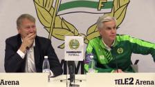 Presskonferensen efter Hammarby - Malmö FF