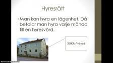 Introduktion till tema: bostad