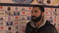 Batan besviken efter matchen mot Östersund